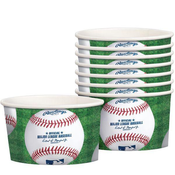Rawlings Baseball Treat Cups 8ct