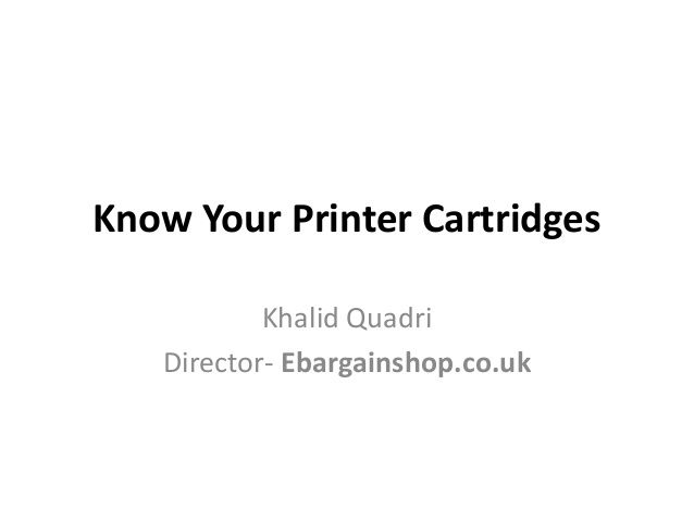 Know your printer cartridge :manily about OEM compatible and Re manufactured Printer cartridge and differences among them