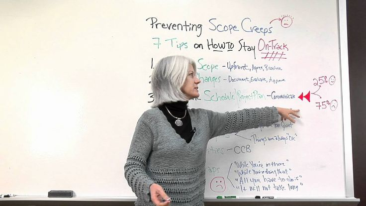 project scope creep Project management planning to prevent scope creep and pm training - villanova university online learn how to manage project scope creep from an established university.