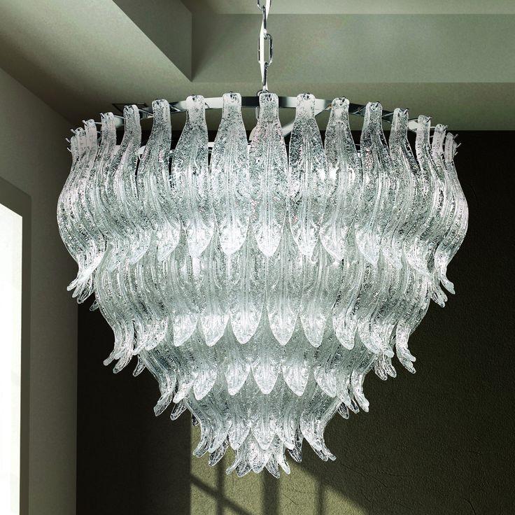 Petali 8002 60 hängelampe aus murano glas