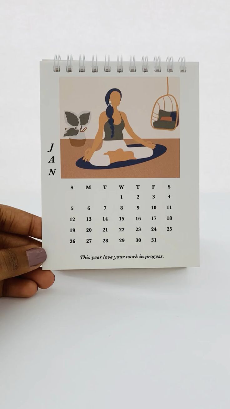 Video 2020 Self care Desktop Calendar | Desain kalender ...