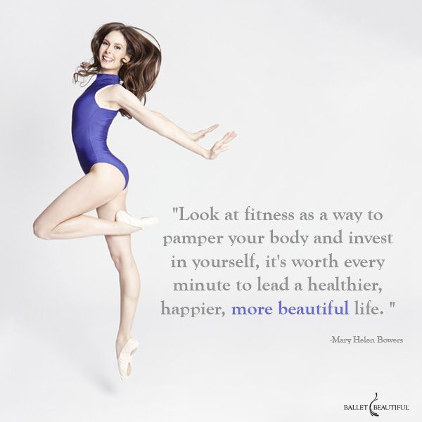 Invest in yourself | Ballet Beautiful ~ Note to self....