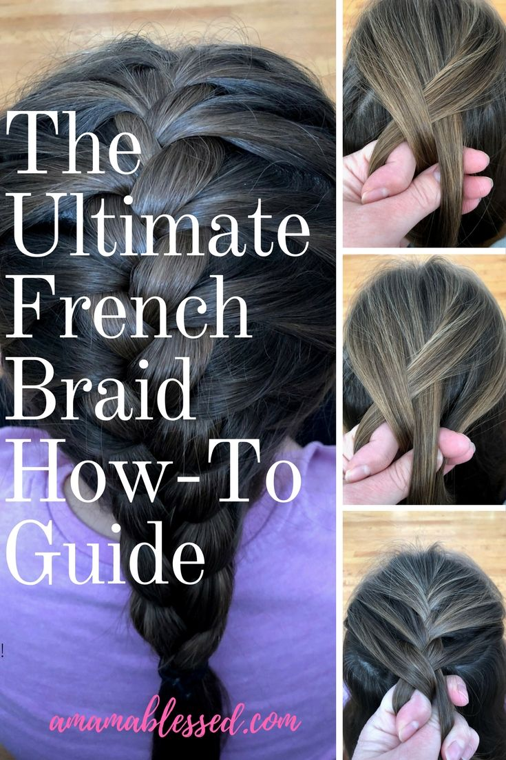 Are you wondering how to French braid hair? Are you looking to learn how to create the perfect French braid? A step-by-step, easy to follow guide on the classic French braid.  Includes tips on how to create the perfect braid. Works for pigtails and people of any age, from toddler to adult! Perfect for beginners!