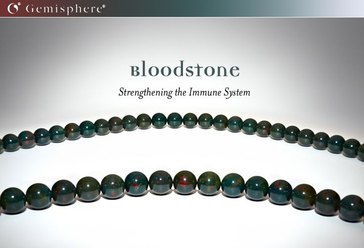 Bloodstone - Strengthening the Immune System - Stay Healthy this winter with Bloodstone, a tool for your immune system!
