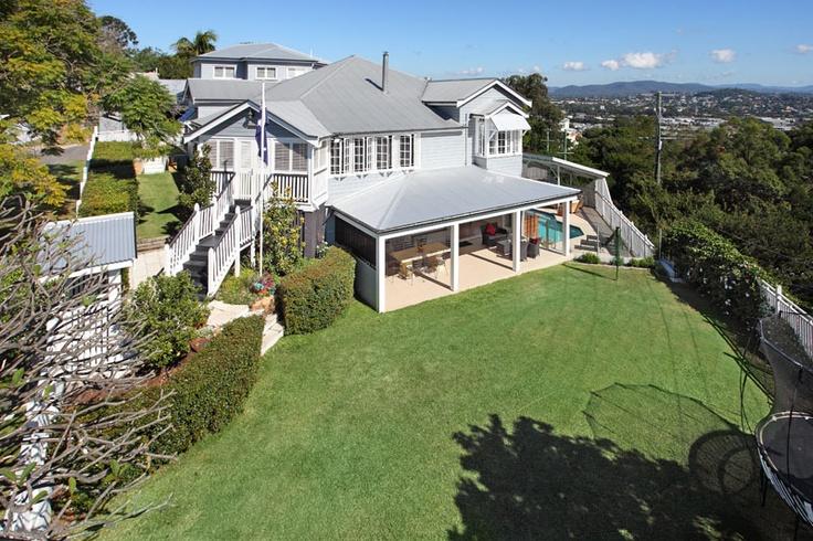 Queenslander Home in Hamilton Brisbane