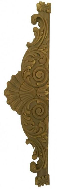 Adorna tus puertas y armarios con este precioso dintel de resina de medidas 75x19 cm, ideal para decorar con acrílico americana, pintura de tiza, pan de oro plata o técnicas mixtas. Puedes comprarlo online en Topaz tienda de manualidades.