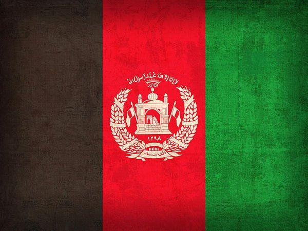 Afghanistan Flag Vintage Distressed Finish Art Print By Design Turnpike Afghanistan Flag Afghan Flag Flags Of The World