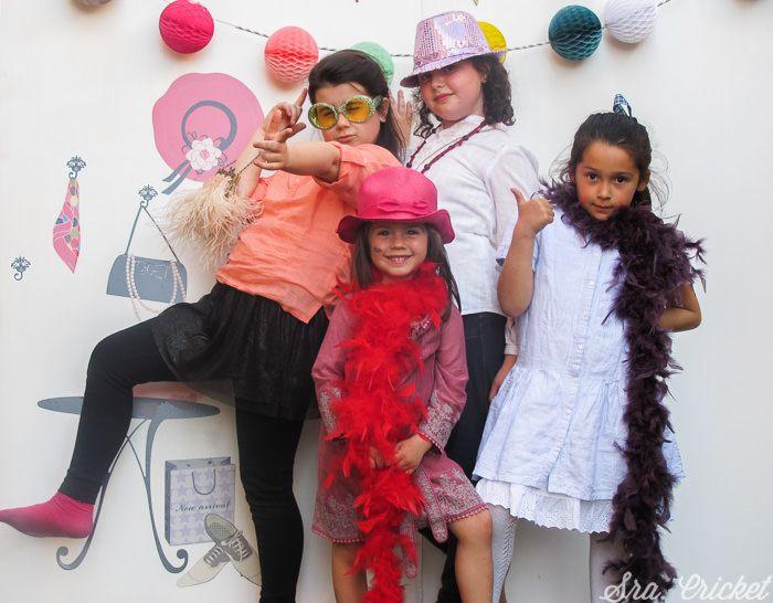 photocall fiesta infantil moda