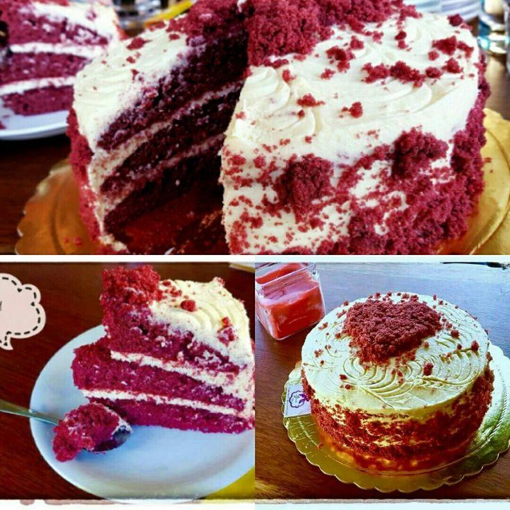 """Red velvet cake """"My Yummy  days"""""""