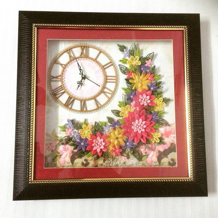 417 best Quilling Clocks images on Pinterest   Paper ...
