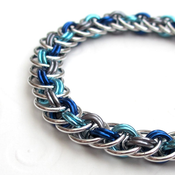 Basket Weave Chainmaille Tutorial : Best chain malle images on chainmaille