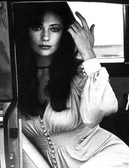 Bisset. Staring. For Vogue Paris. Through the lens of Jean Jacques Bugat. '73.