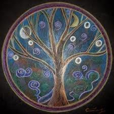 pretty tree art