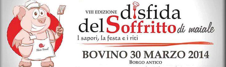 La disfida del soffritto il 30 marzo a Bovino (FG)