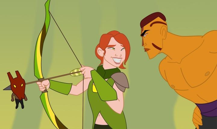 Dota 2 spin on Mulan.