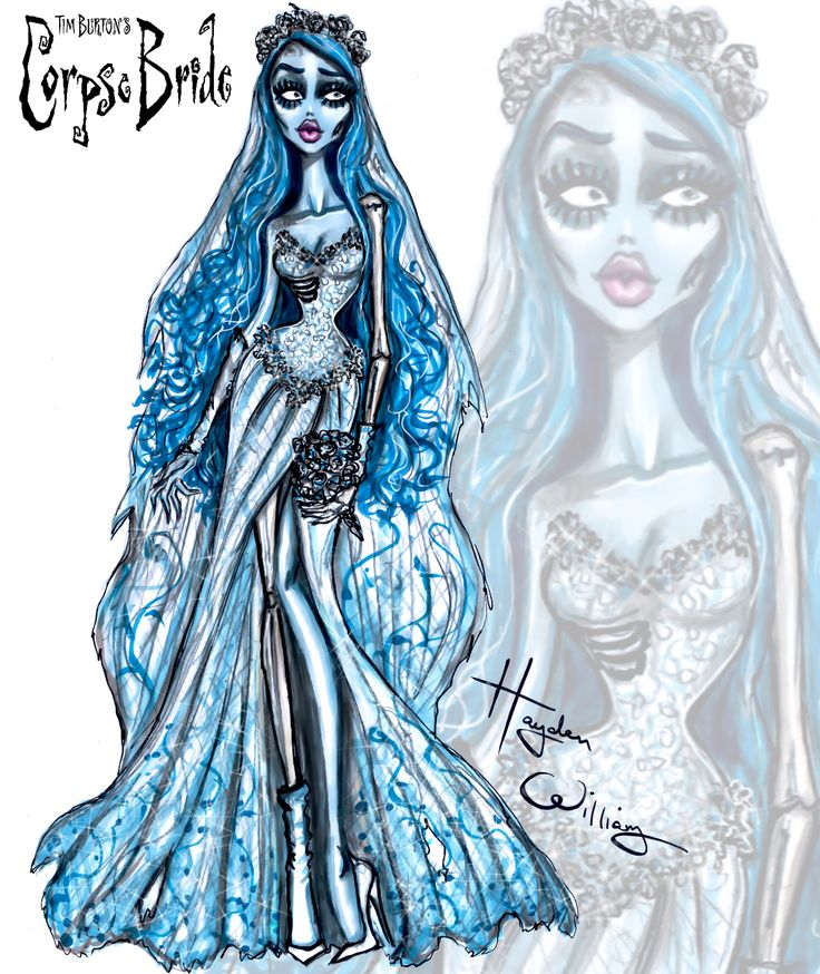 #CorpseBride by Hayden Williams #TimBurton| Be Inspirational❥|Mz. Manerz: Being well dressed is a beautiful form of confidence, happiness & politeness