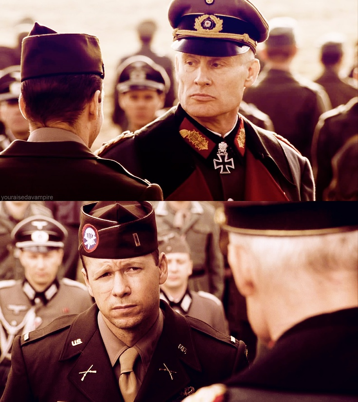 Band of Brothers Donnie Wahlberg as C. Carwood Lipton