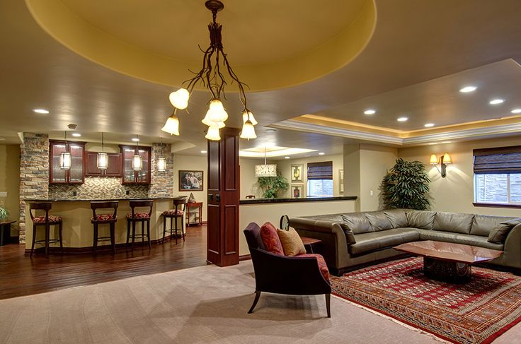 Best 25 finished basement designs ideas on pinterest finished basement bars basement plans - Great basement designs ...