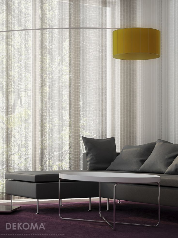 An interesting collection of ethereal fabrics in which punching with jagged edges creates an irregular dynamic pattern. Ebony and Esprit are the alternative for traditional plain net curtains. They are a little coarse and modern which fits perfectly the trend inspired by nature. The fabrics are available in seven toned-down natural colors.