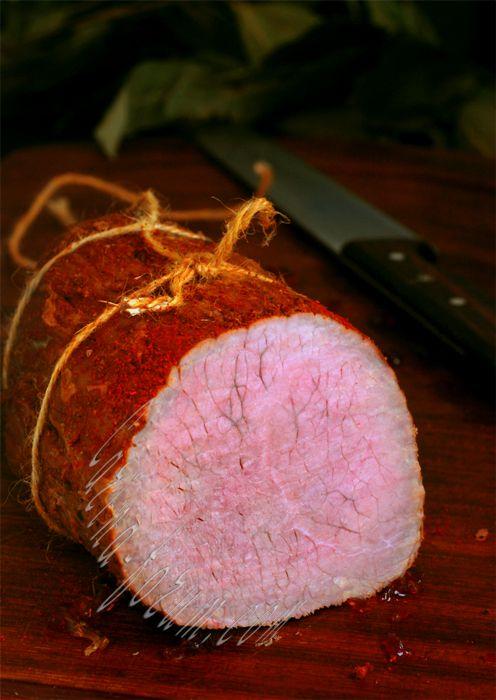 Пастрома из говядины