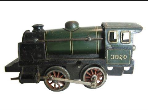 Historische Blech-Eisenbahn MÄRKLIN Spur 0