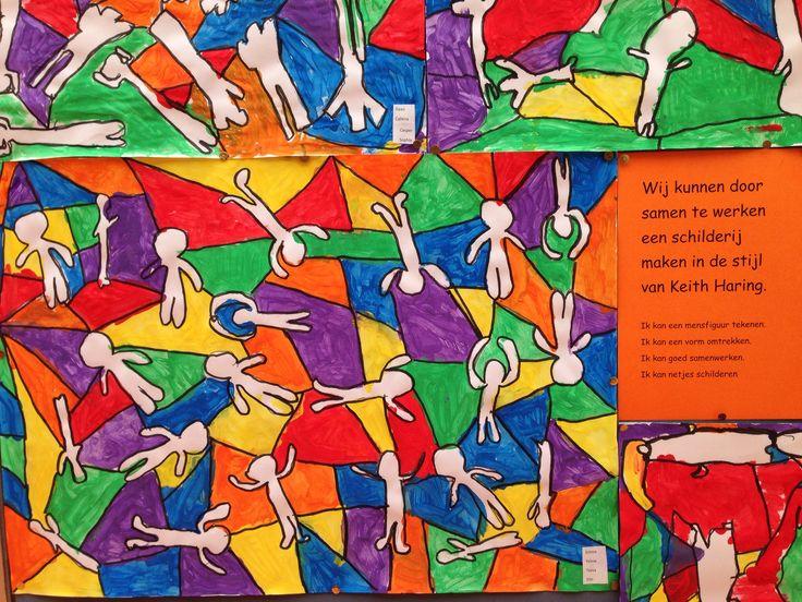 Keith Haring in de onderbouw (groep 3/4)