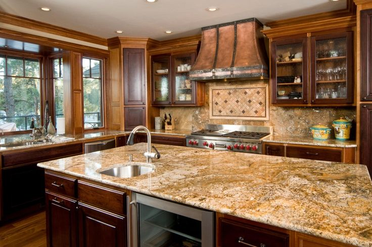 Pictures Of Granite Kitchen Counters