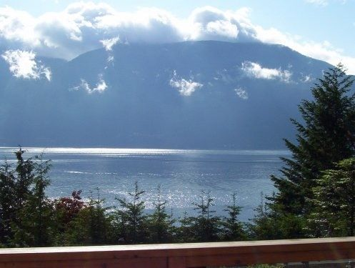 What a view from this vacation rental British Columbia #vacationrental