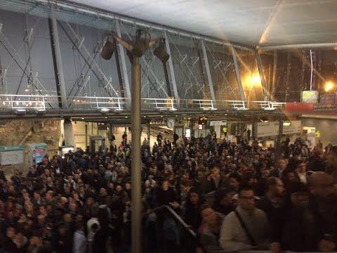 Stratford station attack - Stratford station crush