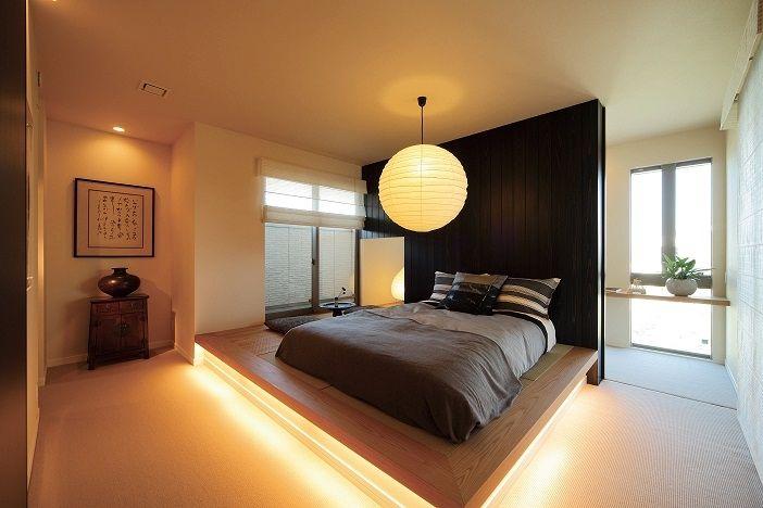 畳仕様の主寝室