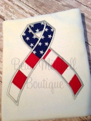 4th of July Ribbon Applique | Beau Mitchell Boutique