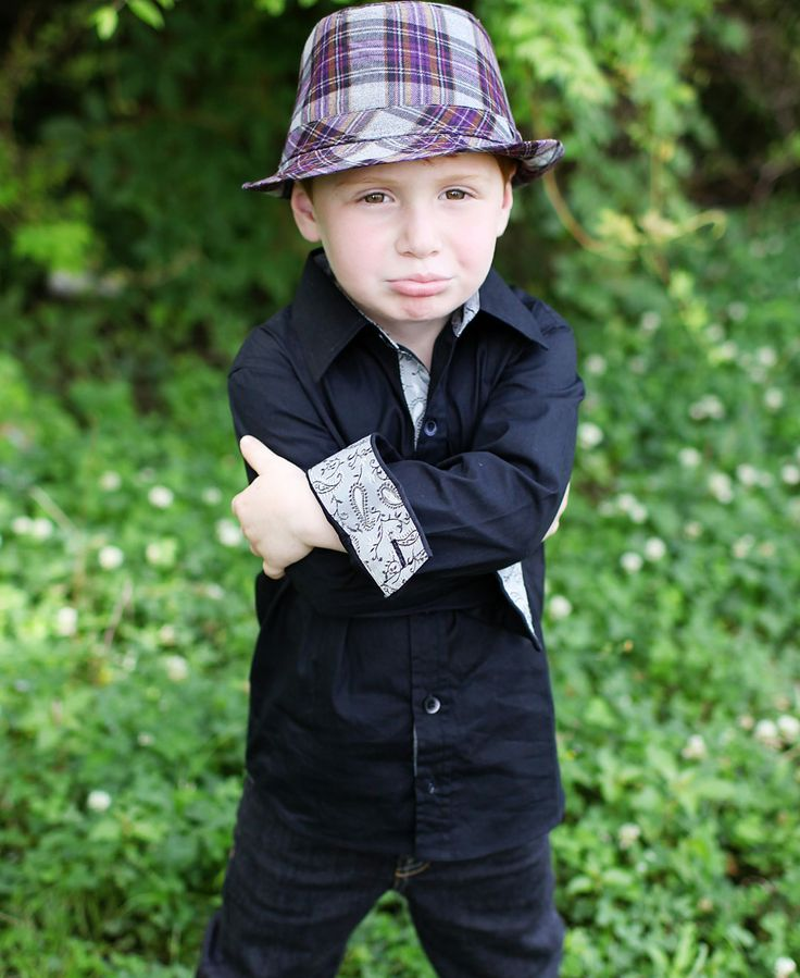 Black Formal Button Down Shirt