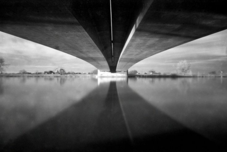 Aqueduct In Ravenstein the Netherlands with the Zero Image Pinhole Camera.