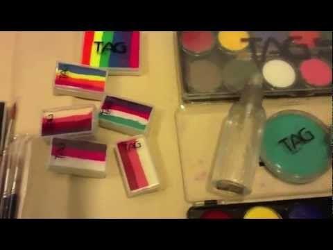 Beginner Face Painting Kit - YouTube