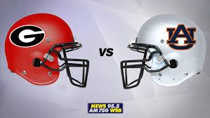Image result for georgia and auburn game 2017