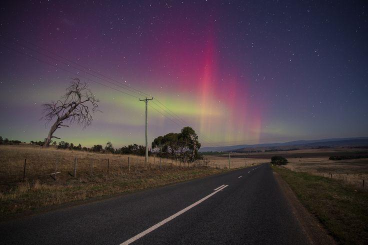 The Tron Orphic, by Luke Barker. Aurora Australis, shot in the Tasmanian Midlands.  www.tronorphic.com