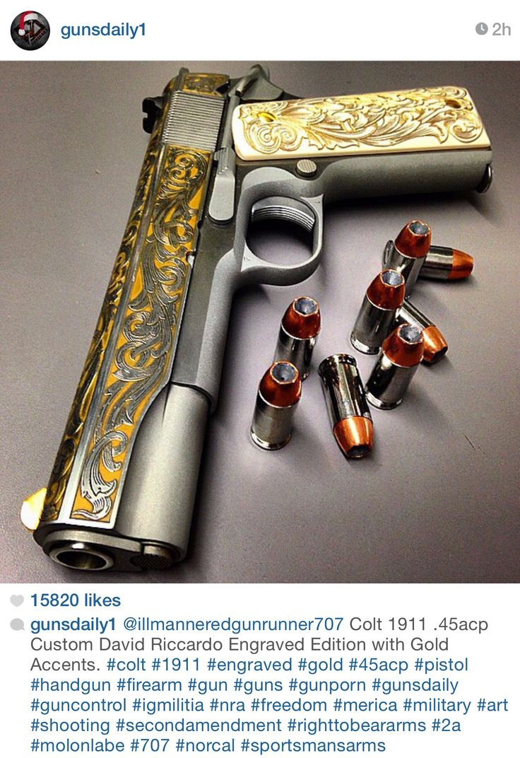 Double pistol handgun revolver gun display case cabinet rack shadowbox - Drool Worthy Gun Gunsdaily Custom Gunscustom