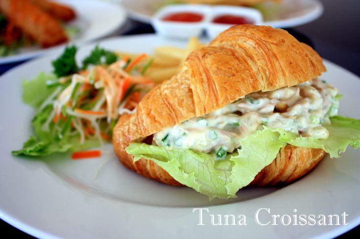 Delicious Tuna Croissant@Crown Prince Hotel Surabaya - Avallon Restaurant Basuki Rahmat 123 - 127 East Java Surabaya - Indonesia Ph.+62 31 54 500 90 F.+62 31 54 500 89