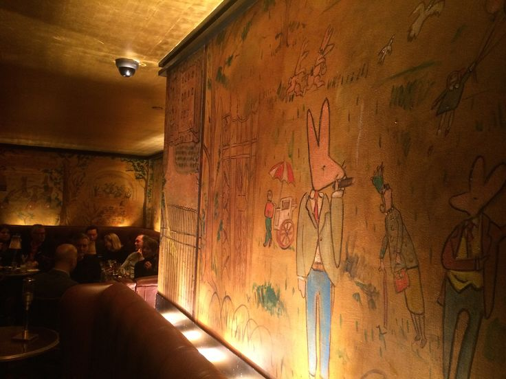Bemelman's Bar at the Carlyle Hotel - NYC