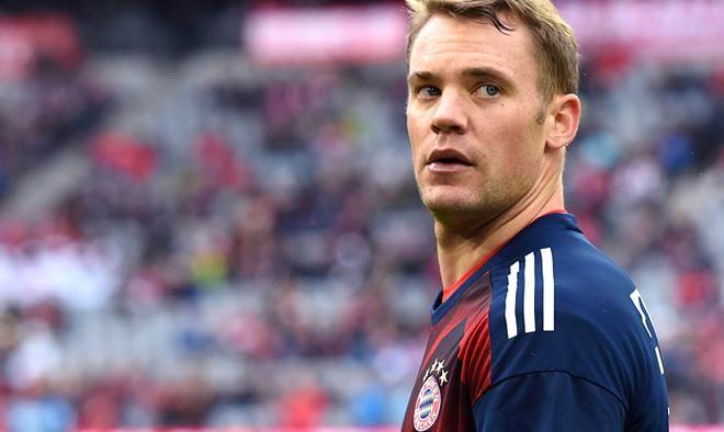 Download wallpapers Manuel Neuer Bayern Munich goalkeeper ...