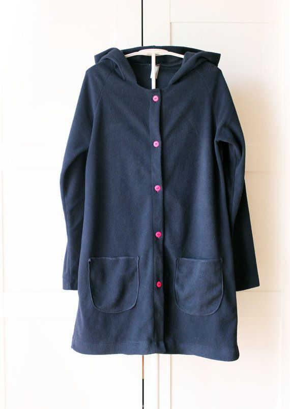 Women's hoodie long cardigan