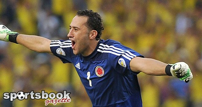 <<< SPORTSBOOK GAZETTE >>>  Arsenal sign David Ospina  Nice claim that Colombia goalkeeper David Ospina has completed his move to Arsenal.  Arsenal have not yet confirmed the signing but the move has been expected for some time, with the Gunners reportedly paying Nice just over £3million for Ospina.  #DavidOspina #Arsenal #SPORTSBOOKGAZETTE