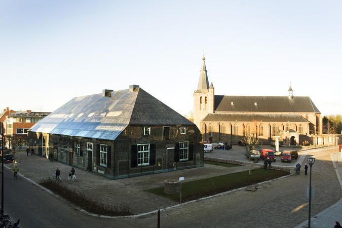 glass farm completed in schijndel