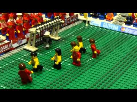 Champions League 2013 Final Lego - Bayern Munich & Borussia Dortmund Full Highlights