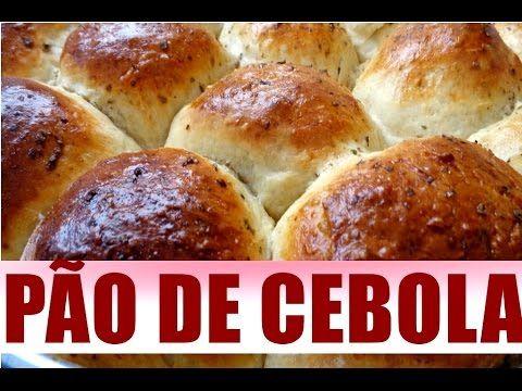 PÃO DE CEBOLA FOFINHO FÁCIL DE FAZER VOCE VAI SE SURPREENDER COM ESSA DE...