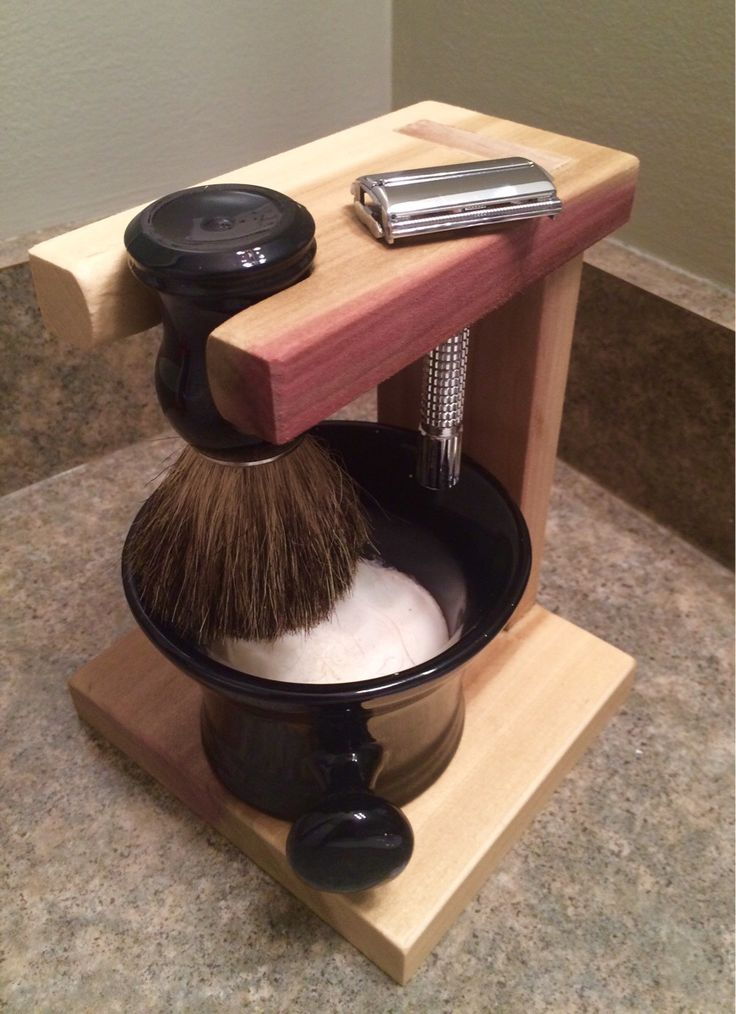 Shave stand from Reddit. May have to try this.