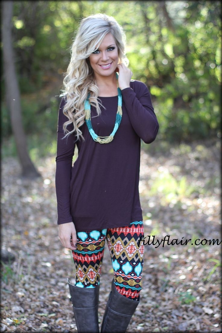 fancy outfits with patterned leggings dress