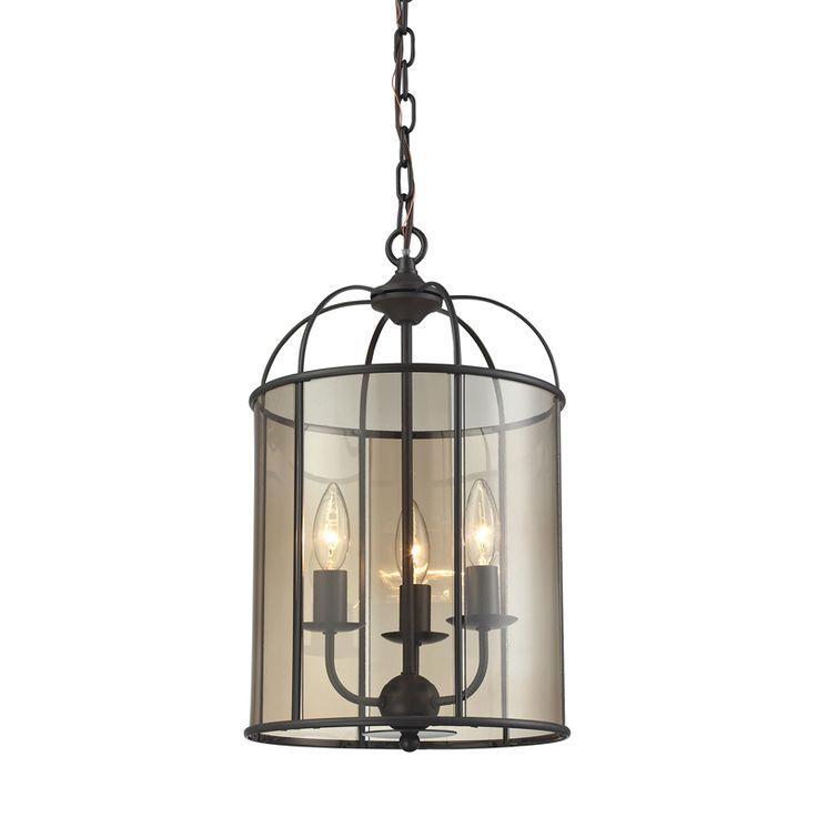 love this fenton chandelier by elk lighting on