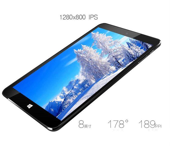 "VIDO W8X 8.0"" Windows Tablet PC w/ 2GB RAM, 32GB ROM - White + Black - Free Shipping - DealExtreme"