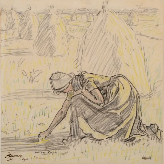jan toorop -arenleester 1903